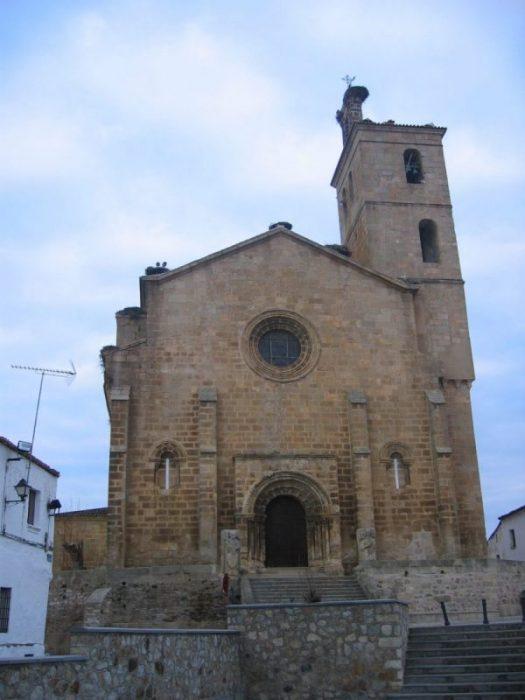 iglesia de Alcantara