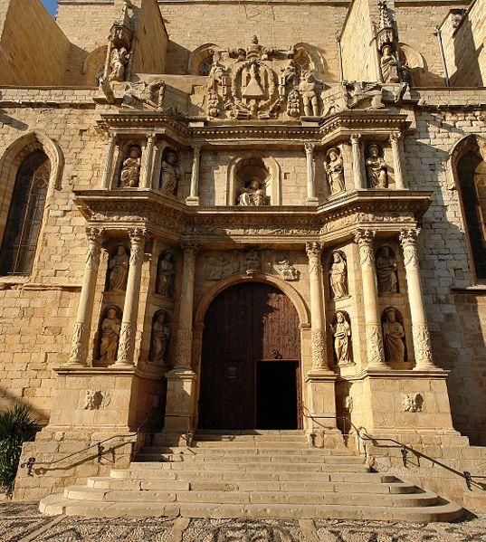 537px barroque entrance   church of santa maria in montblanc alberto fernandez fernandez - Montblanc y su imponente recinto amurallado de origen medieval (Tarragona)