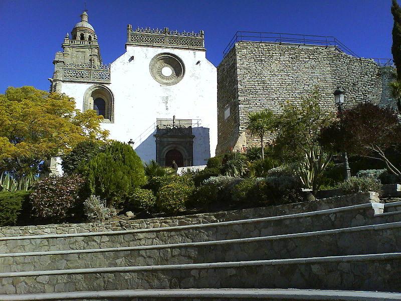 iglesia santamaria frontal - Medina Sidonia, donde apadrinaron a Cristóbal Colón (Cádiz)