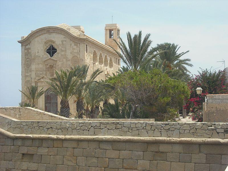 tabarca iglesia san pedro y san pablo