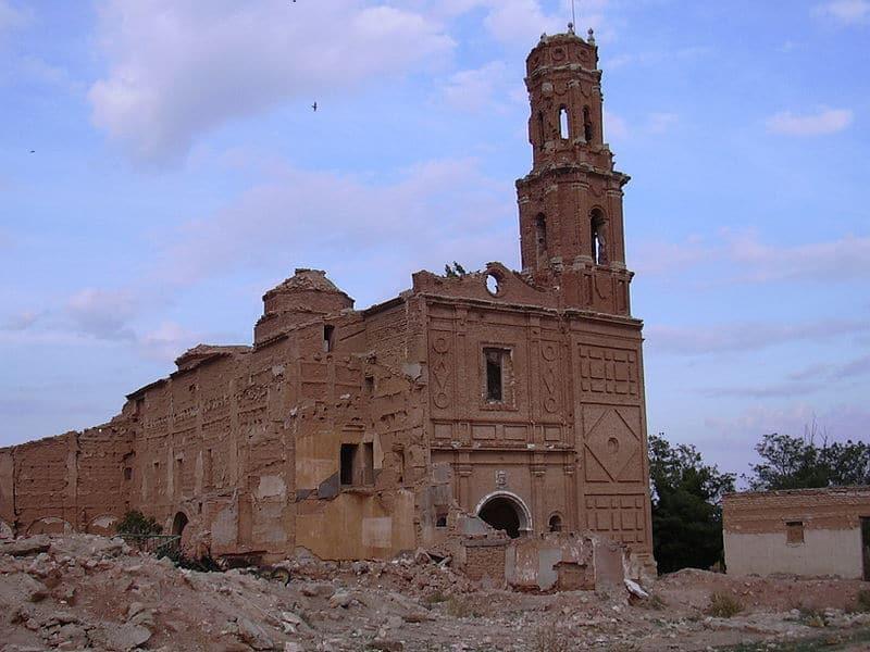 iglesia de Belchite