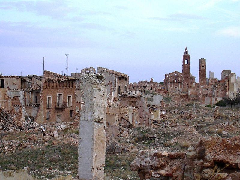 ruinas Belchite