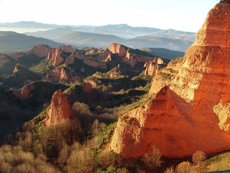 Las Médulas: la mina más grande de todo el Imperio romano