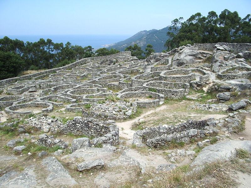 Galicia Castro de Santa Tecla