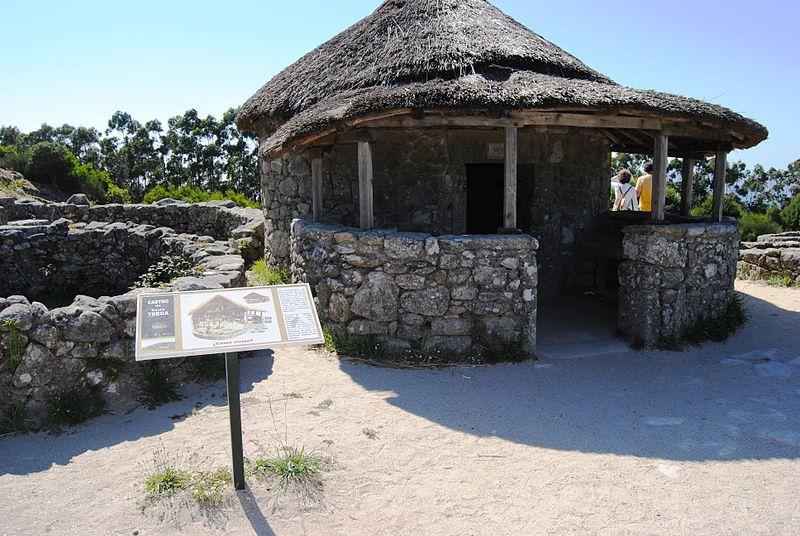 castro de santa tecla hombredhojalata1 - A Guarda y su pasado celta (Pontevedra)