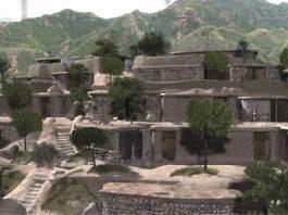 recreacion de la zona alta de la bastida la bastida de totana