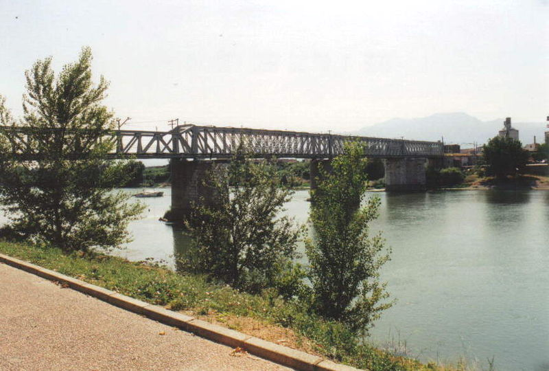 rio Ebro en Tortosa