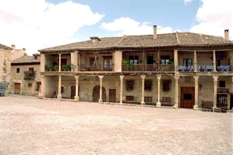 plaza mayor pedraza jsanchezes