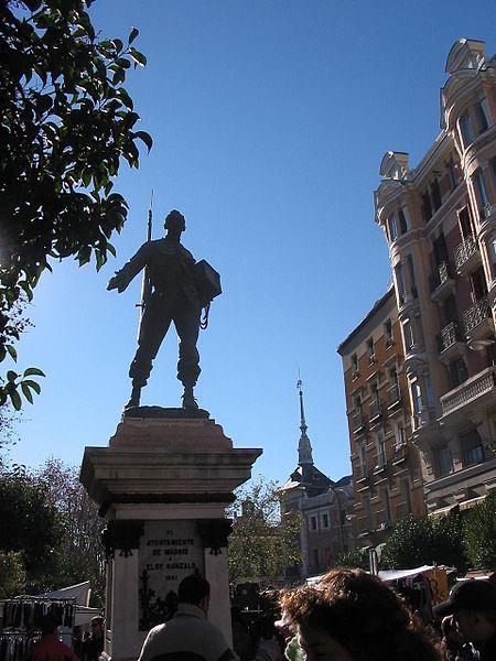 Estatua de Cascorro Madrid