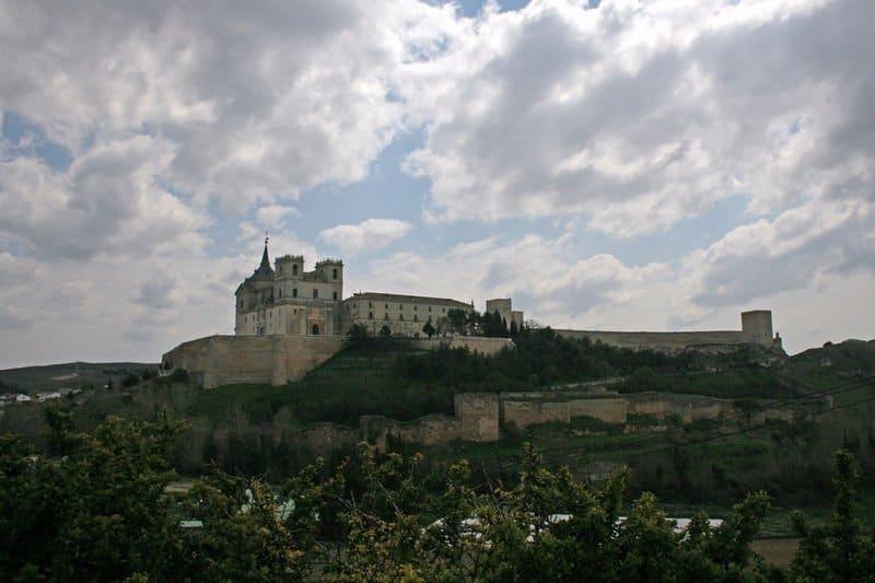 panorámica del monasterio de uclés