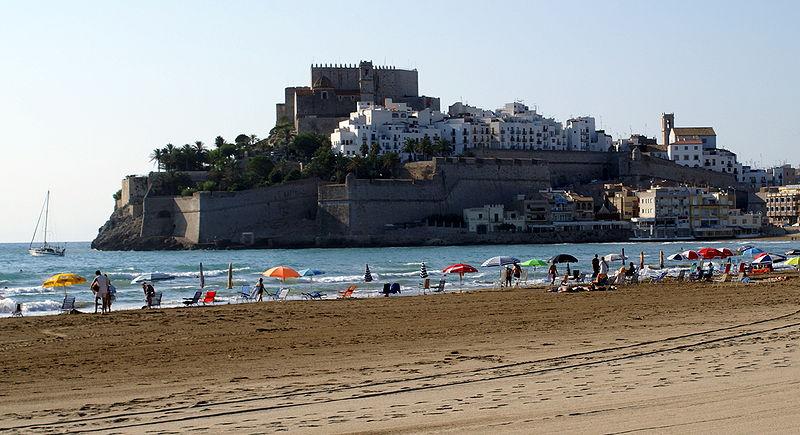 Peñíscola, fortaleza templaria que cobijó al antipapa Luna (Castellón)