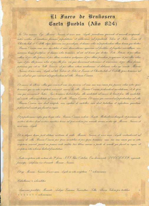Brañosera: el primer Ayuntamiento de España (Palencia)