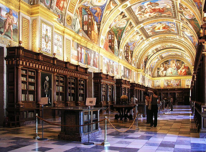 biblioteca escorial Madrid