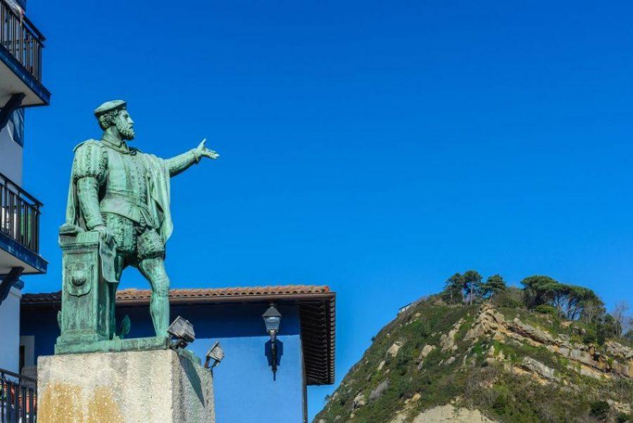 La vuelta al mundo de Elcano y Guetaria
