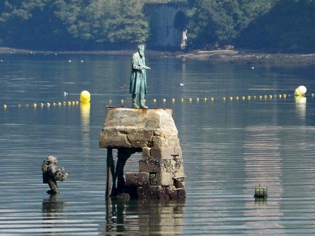 San Simón: la isla que inspiró a Julio Verne (Pontevedra)