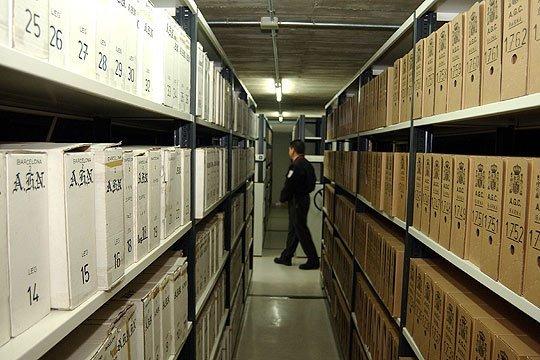dependencias archivo salamanca