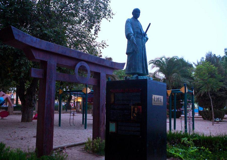 Coria del Río y los samurais que la visitaron