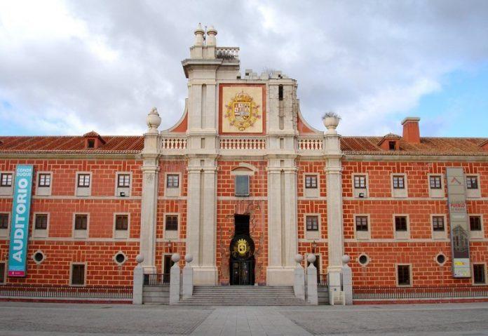 patio del cuartel del conde duque en madrid