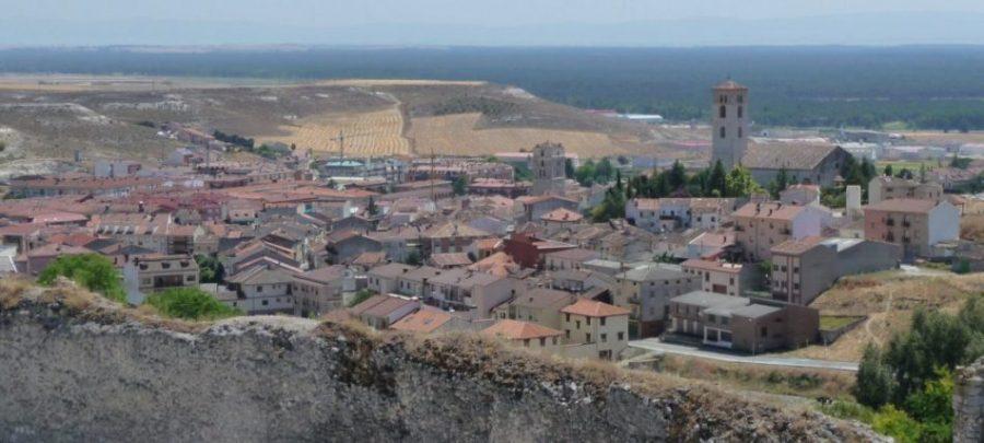 Cuellar vista desde su castillo BigSus