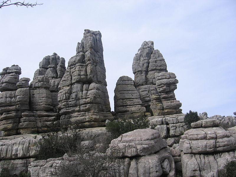 El Torcal de Antequera y sus dólmenes (Málaga)