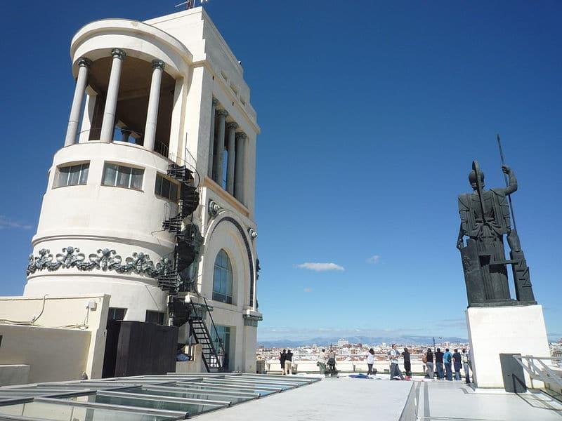 Circulo de Bellas Artes azotea