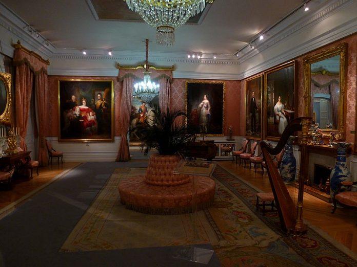 Salón de baile Museo del Romanticismo Outisnn