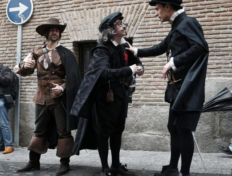 Ruta teatralizada Barrio Letras madrileño