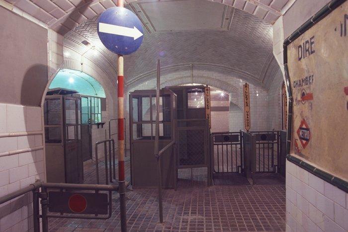 estacion chamberi metro
