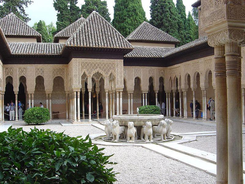 fuente leones alhambra comakut