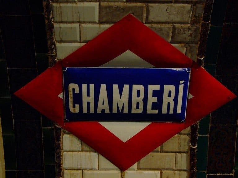 La estación de metro fantasma de Chamberí (Madrid)