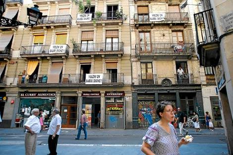 Barrio del Raval, más de 6.000 años de historia (Barcelona)