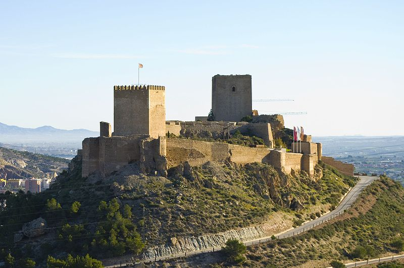 Castillo de Lorca Jose Lorca