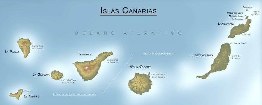 Canarias mapa