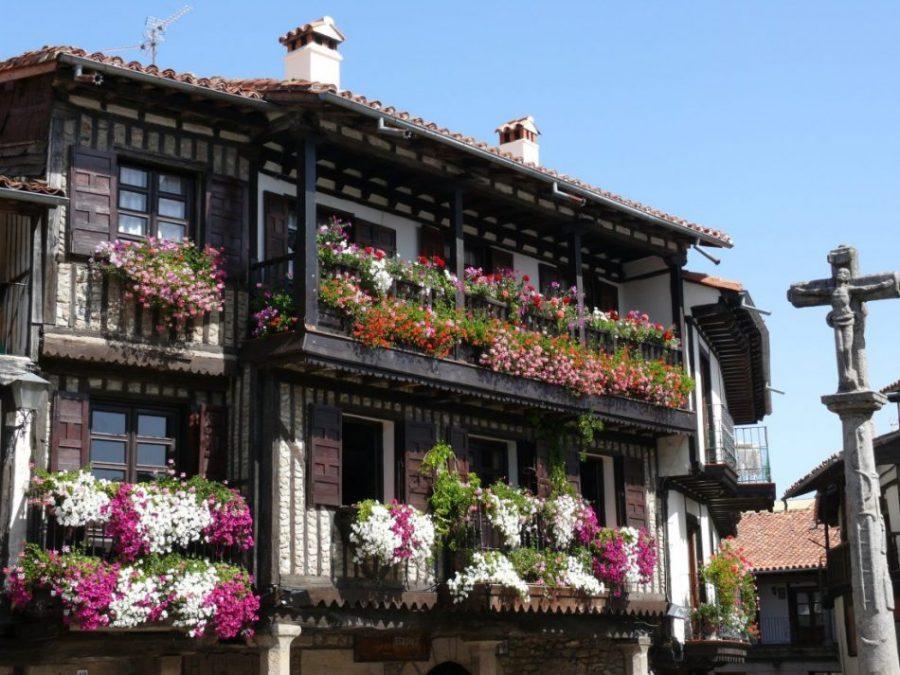 Plaza Mayor de La Alberca Salamanca - La Alberca, un pueblo de auténtica postal