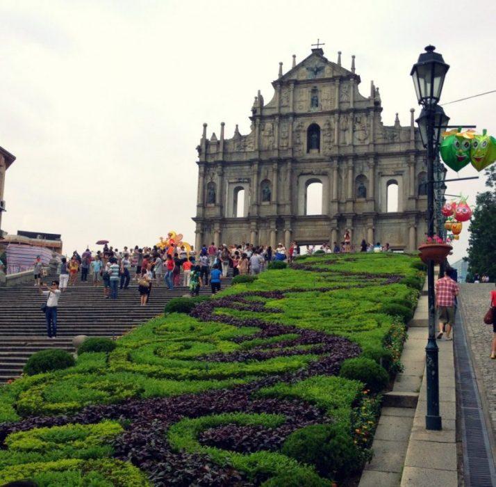 Ruins Of St Pauls Cathedral Macau