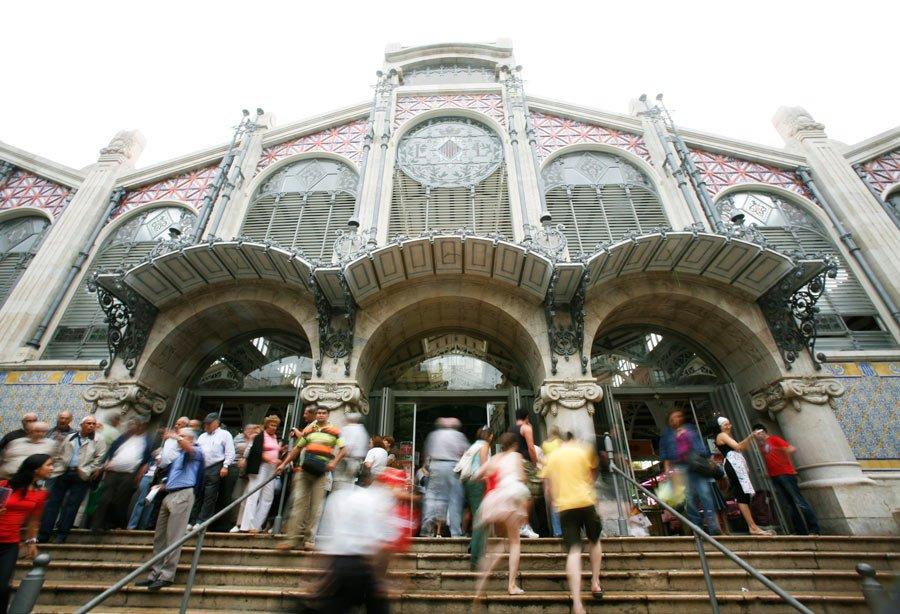 Mercado Central de Valencia, una joya arquitectónica