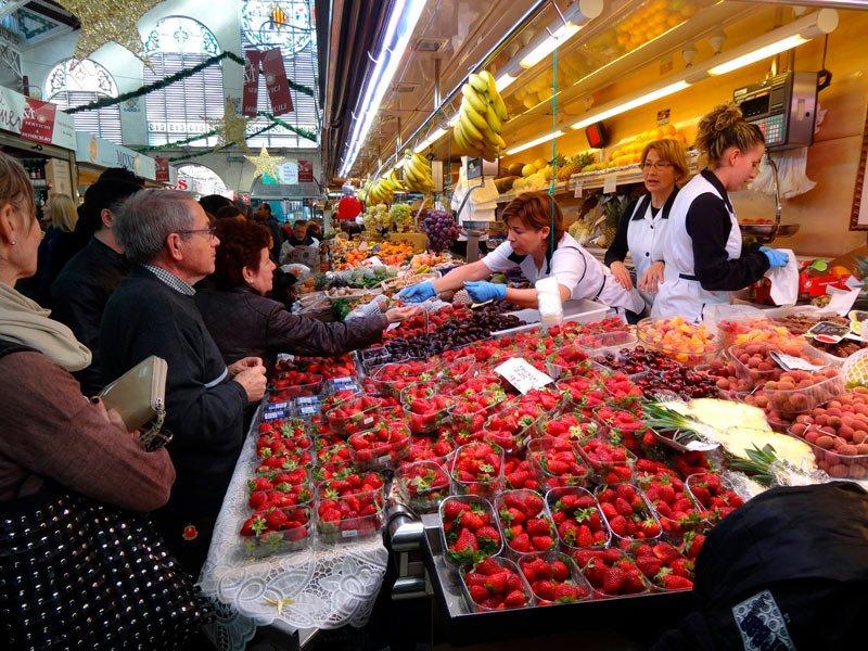 Puestos Mercado Central Valencia