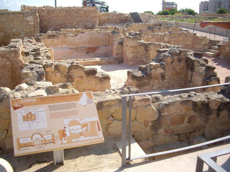 Yacimiento Alicante - Lucentum, la Alicante romana