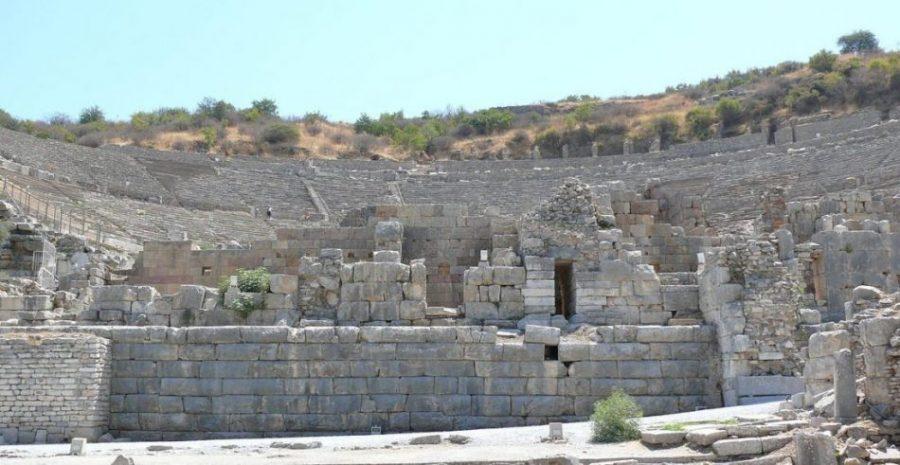 1280px Ephesus great theater Ad Meskens  - Éfeso, uno de los conjuntos arqueológicos más relevantes de Occidente (Turquía)