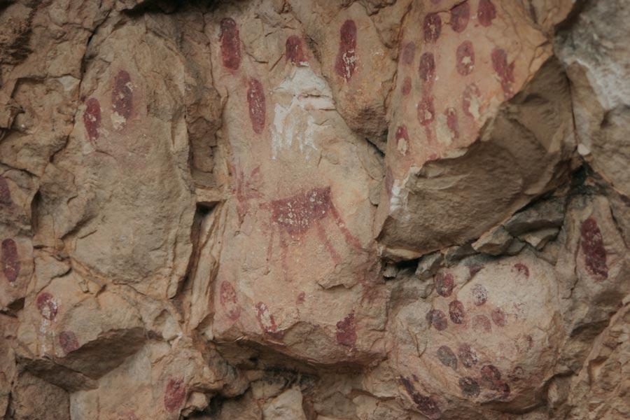 pintura prehistorica guara