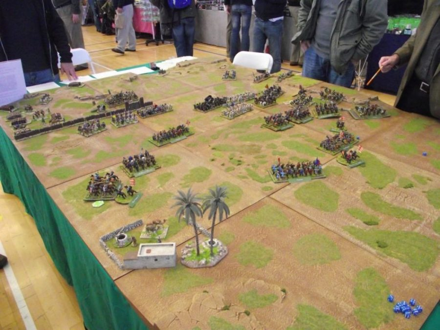 maqueta batalla - Sagrajas, la batalla que aniquiló al ejército cristiano (Badajoz)