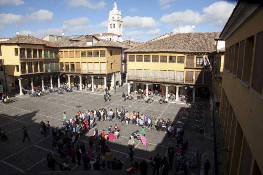 Tordesillas, donde se repartió el Nuevo Mundo (Valladolid)