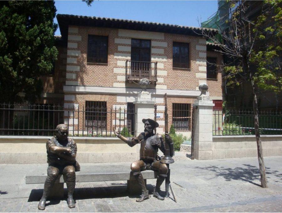 En casa de Cervantes y Lope de Vega