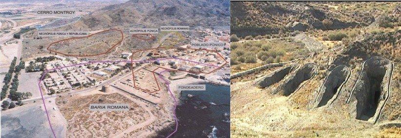 Villaricos, testigo del paso de los fenicios, púnicos, romanos, bizantinos… (Almería)
