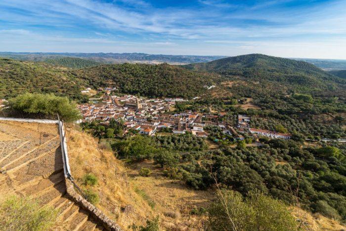 Alajar e1556258516466 - La Peña de Arias Montano: un misterio sagrado y telúrico