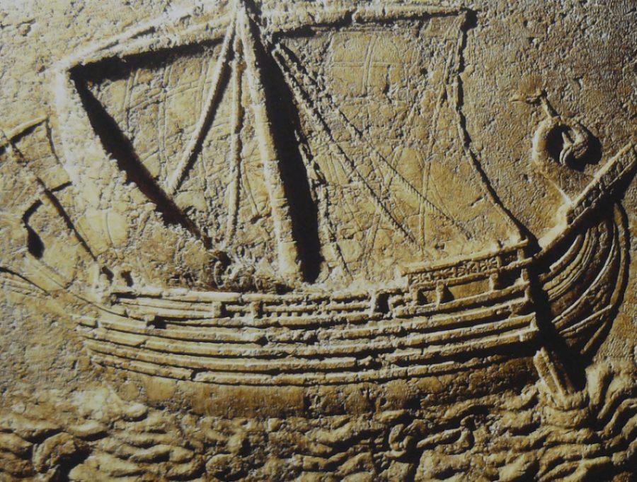 nave fenicia e1493281306603 - Los fenicios llegaron a las Rías Baixas