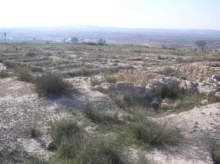 El poblado ibero de El Oral (Alicante)