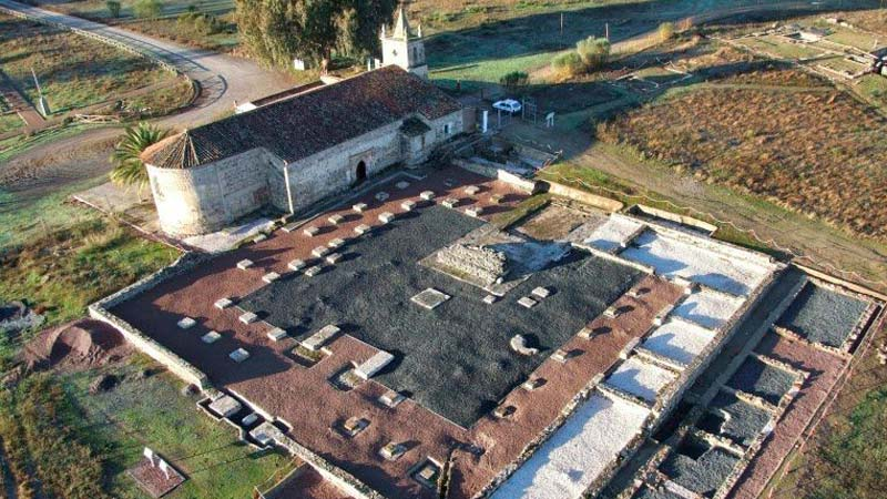 Restos de origen romano en Turobriga