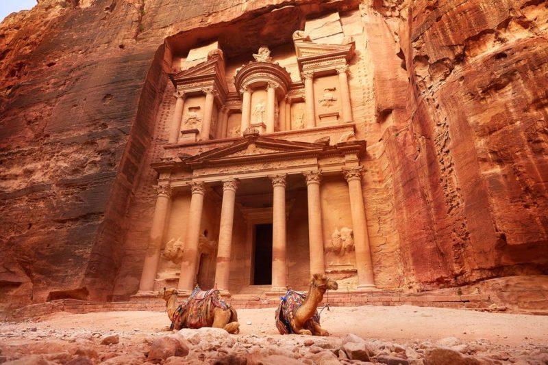 Petra: una joya tallada en la roca