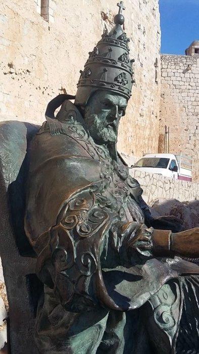 papa luna compressor e1508767260781 - Castillo templario de Peñíscola y el Papa Luna